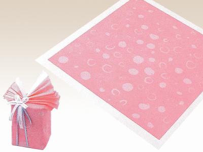 アラカルト しずく ピンク 75×75cm