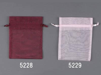 オーガンジーバッグ10枚入り(M)/ピンク(130×170)