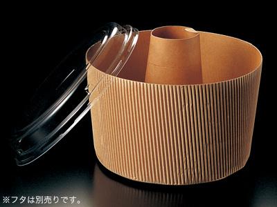 シフォン ハードタイプ SC844 茶無地(カップのみ)