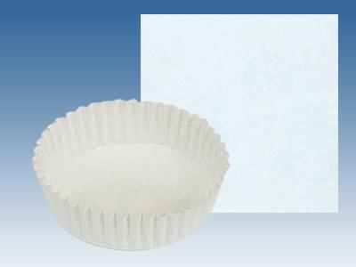 ペットカップ丸型 白無地 (100径×30H)