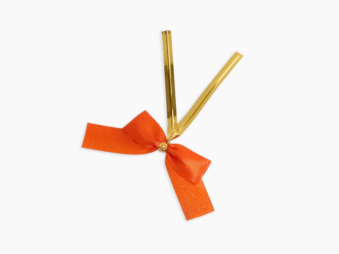 スターリボン小 オレンジ