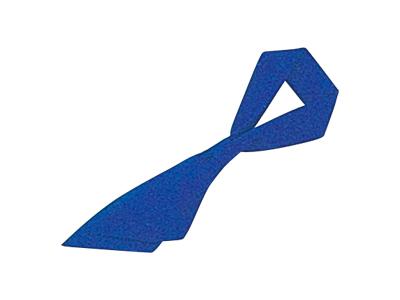 ループ付スカーフ ロイヤルブルー