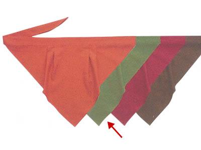 三角巾A オリーブ