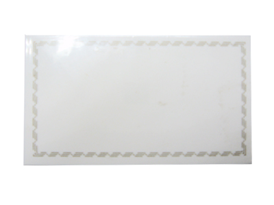 メタクリルカードタテL-90用カード(100枚入)