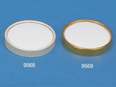 アイスクリーム 4用 紙リングゴールドリッド