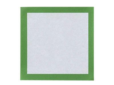 敷き紙 (緑) 3寸