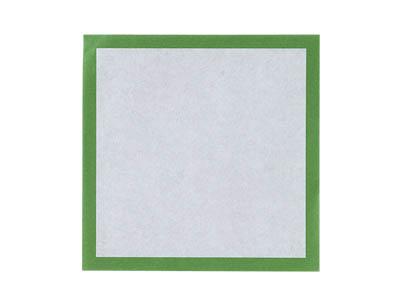敷き紙 (緑) 4寸