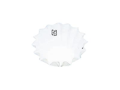 フードケース 丸型8号深 ホワイト(500枚入)