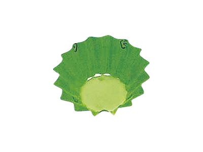 フードケース 丸型8号深 グリーン(500枚入)
