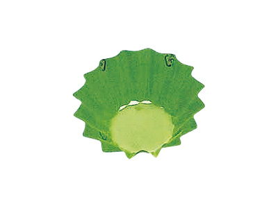 フードケース 丸型10号深 グリーン(500枚入)
