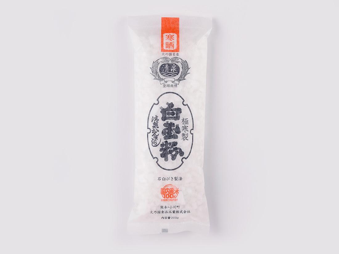 白玉粉 別製清泉印 200g