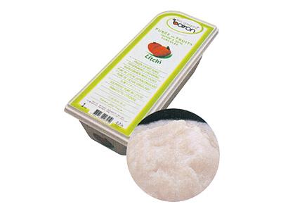 ●<冷凍>ボワロン ピューレ ライチ 1kg