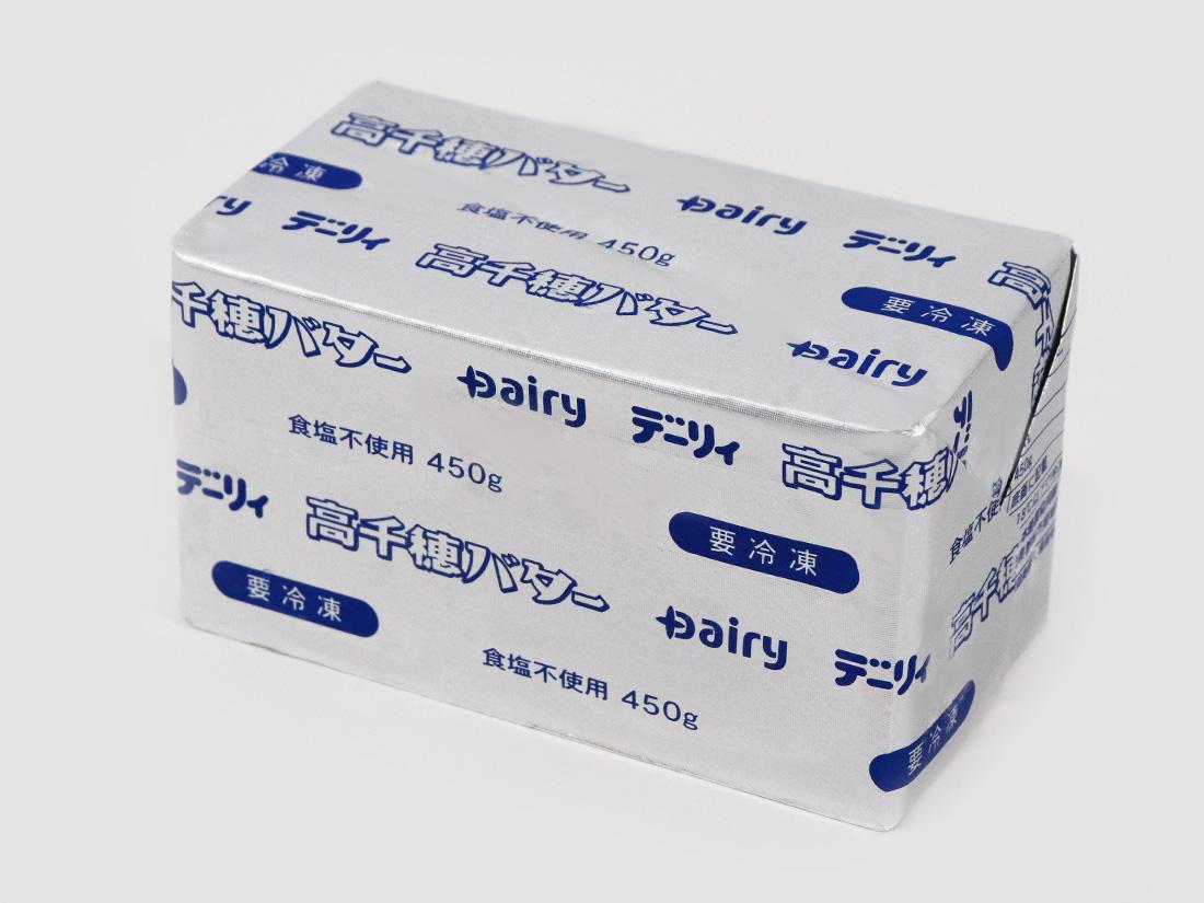 <冷凍>南日本酪農 高千穂バター 食塩不使用 450g