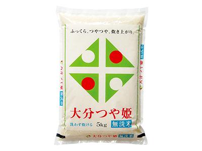大分県産 無洗米 つや姫 5kg