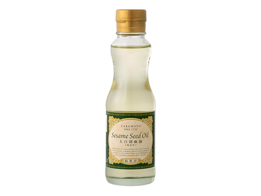 竹本油脂 製菓用太白ごま油 200g