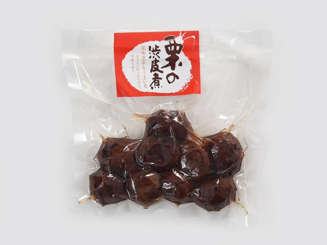 冷蔵便 堀永殖産 栗の渋皮煮 200g