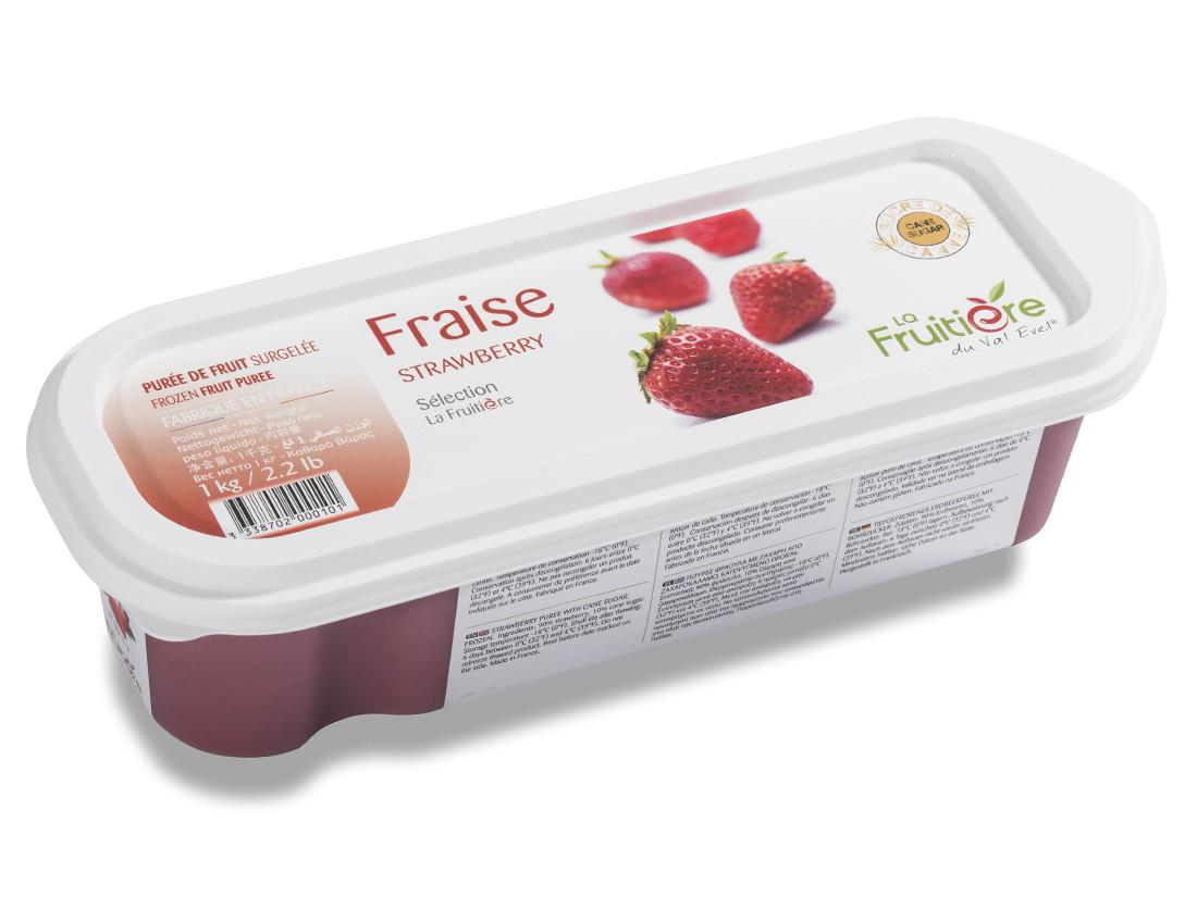 冷凍 ラ・フルティエール ストロベリーピューレ 1kg