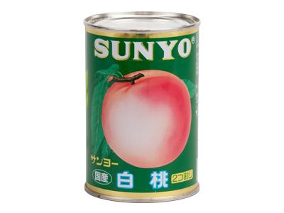 Gサンヨー 白桃 4号缶