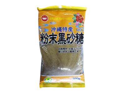 日新製糖 沖縄特産 粉末黒砂糖 300g