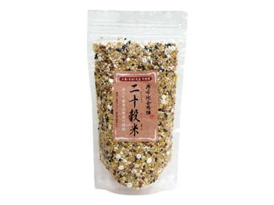 湯布院長寿畑 小麦・そば・大豆 不使用 二十穀米 150g