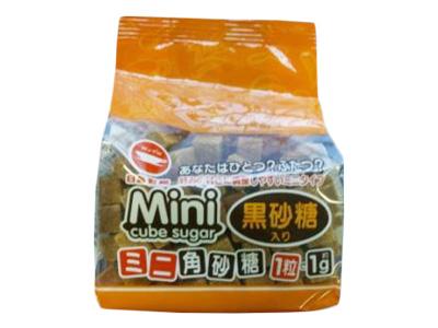 日新製糖 ミニ角砂糖 黒砂糖入り 140g
