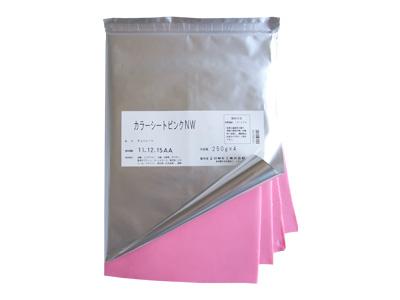 冷蔵便 日新化工 カラーシートピンクNW 1kg