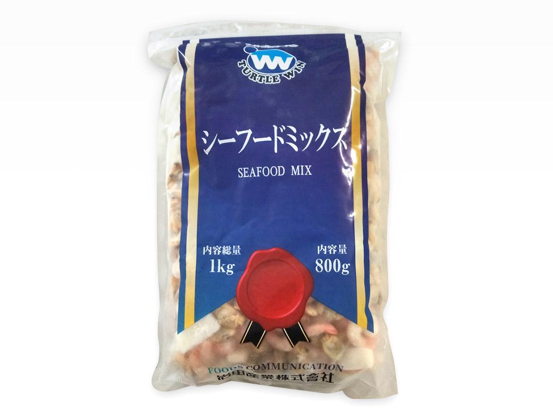 <冷凍>TW印 シーフードミックス(1kg)