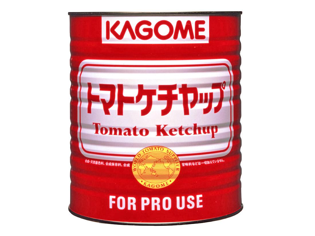 カゴメ トマトケチャップ 標準 赤(1号缶)