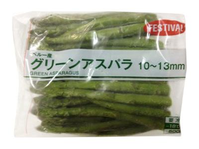 冷凍 南米産 グリーンアスパラ 500g