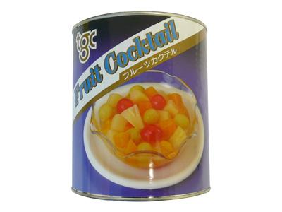 天狗 フルーツカクテル 2号缶