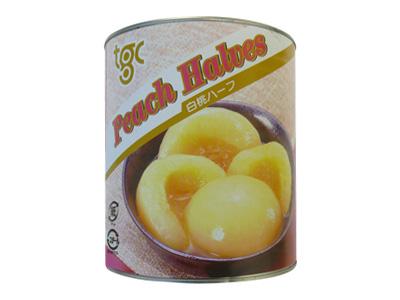 白桃ハーフ 1号缶