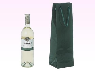 ブライトバッグ ワイン1本 グリーン