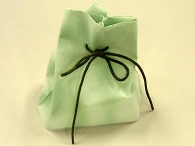 雲竜巾着袋(グリーン)