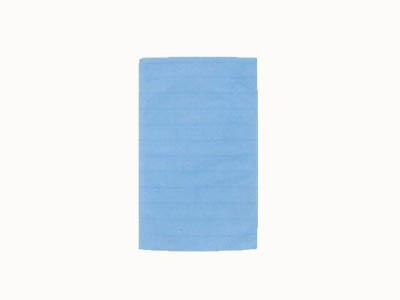 不織布平袋 ボーダーM (ブルー)