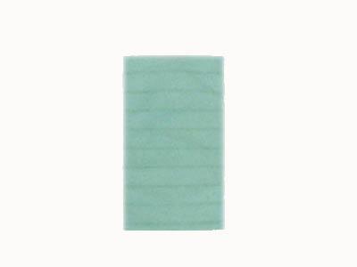 不織布平袋 ボーダーS (グリーン)