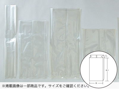 ガゼット袋V-18(180+35×410)
