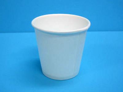 2.5オンス紙カップ(白)