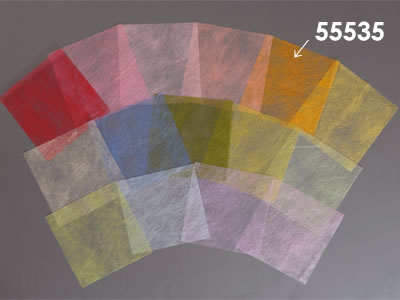 包装紙 パサラン60(21)オレンジ
