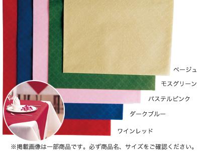 パリクロ テーブルクロス ダークブルー 150×150cm