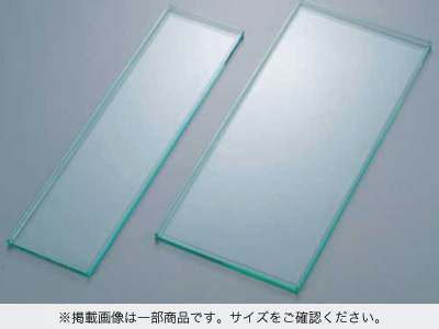 WTアクリル角トレー ガラスカラー 50×17cm