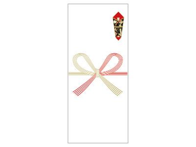 OA対応札紙 蝶結び (100枚)