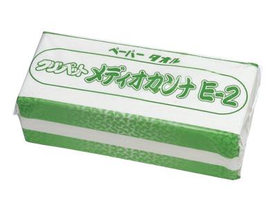 ペーパータオル メディオカンナE-2(再生紙)200枚入