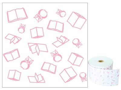 ファンシーレジ用紙 ピンク 本 58mm