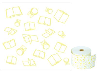 ファンシーレジ用紙 黄色 本 58mm