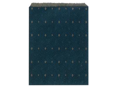 平袋 小紋 2号藍