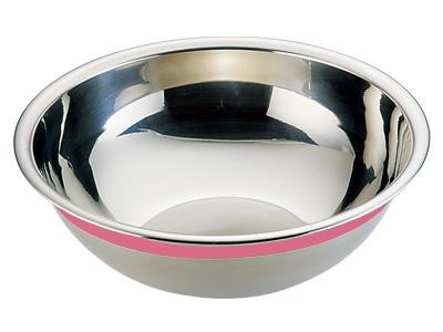 18-8カラーラインボール 33cm ピンク