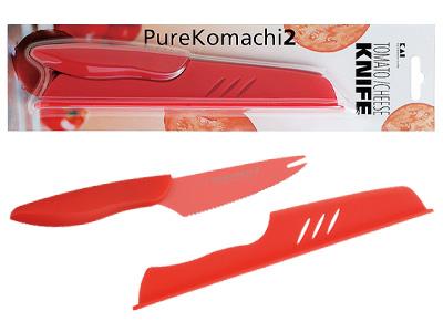 PK2 トマト・チーズナイフ サヤ付き