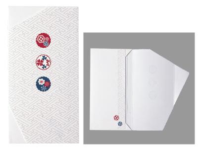 和紙チケット袋(お祝い・お札用)T380-101(2枚入)