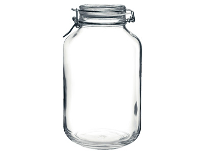 ガラス製 フィドジャー 4.0L