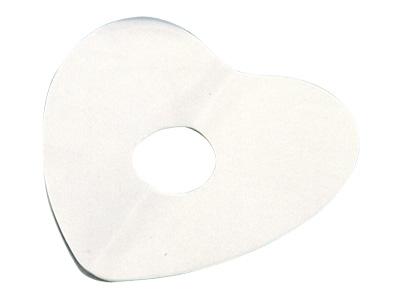 シフォンケーキハート型用 敷紙 20cm用(20枚入)